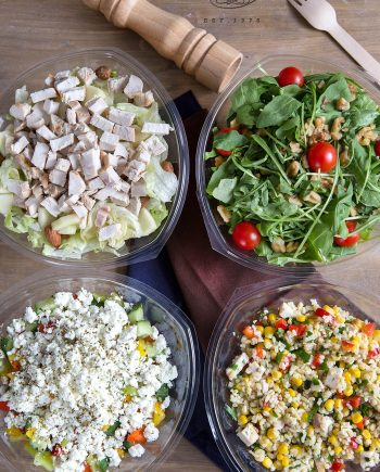 σαλάτες καταστημάτων